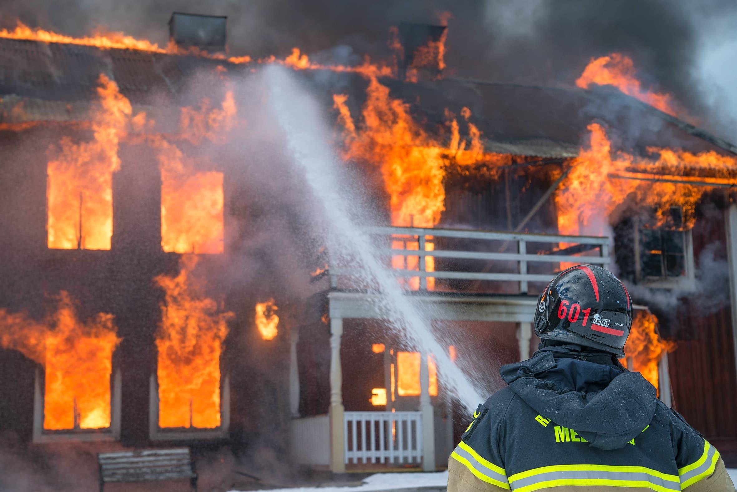Principales causas de incendios en el hogar